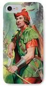 Robin Hood IPhone Case by James Edwin McConnell