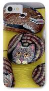 Rock Cats And Fawns IPhone Case
