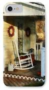Rocking Chair On Side Porch IPhone Case