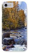 Rocky Mountain Water 8 X 10 IPhone Case by Kelley King
