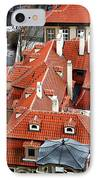 Roofs In Prague IPhone Case