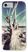 Roots To The Sky-vintage IPhone Case by Chris Andruskiewicz