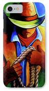 Roper IPhone Case by Lance Headlee