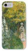 Rose Garden IPhone Case by Claude Monet