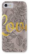 Roses For Love IPhone Case by BONB Creative