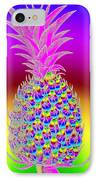 Rosh Hashanah Pineapple IPhone Case by Eric Edelman