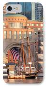 Rowes Wharf IPhone Case