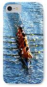 Rowing In IPhone Case by David Lee Thompson