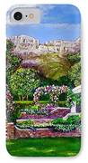 Rozannes Garden IPhone Case by Michael Durst