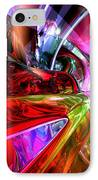 Runaway Color Abstract IPhone Case by Alexander Butler