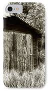 Rustic Shed IPhone Case by Perry Webster