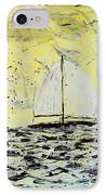 Sail And Sunrays IPhone Case by J R Seymour