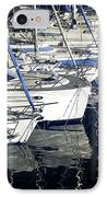 Sailboat Bow IPhone Case by John Rizzuto