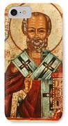 Saint Nicholas IPhone Case