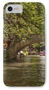 San Antonio Riverwalk IPhone Case by Steven Sparks