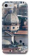 San Gioacchino In Prati IPhone Case by Andy Smy