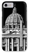San Pietro IPhone Case by John Rizzuto