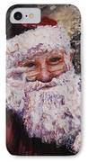 Santa Chat IPhone Case