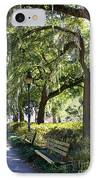 Savannah Benches IPhone Case