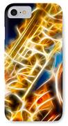 Saxophone 2 IPhone Case