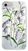 Scottish Blue Bells IPhone Case