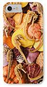 Sea Horses And Sea Shells IPhone Case