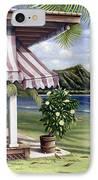 Seaside Hotel IPhone Case by Sandra Blazel - Printscapes
