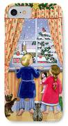 Seeing The Snow IPhone Case by Lavinia Hamer