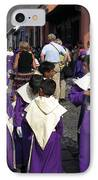 Semana Santa Procession II IPhone Case by Kurt Van Wagner