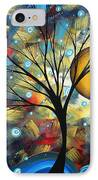 Serenity Falls By Madart IPhone Case by Megan Duncanson
