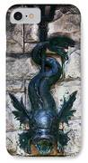 Serpent Fountain IPhone Case by Doug Sturgess