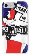 Sex Pistols No.02 IPhone Case by Caio Caldas