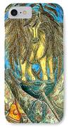 Shaman Spirit IPhone Case by Kim Jones