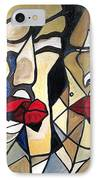 She Had Red Lips IPhone Case