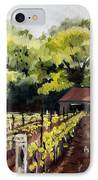 Shed In A Vineyard IPhone Case