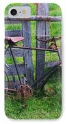 Sheep And Bicycle IPhone Case