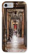 Side Aisle Of The Basilica Of The Mafra IPhone Case