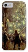 Silent Night IPhone Case by Viggo Johansen