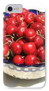 Simply A Bowl Of Cherries IPhone Case