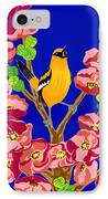 Singing Oriole IPhone Case