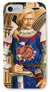 Sir Dinadan IPhone Case by Melissa A Benson