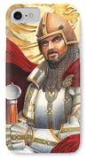 Sir Gawain IPhone Case by Melissa A Benson