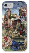 Sir Philip Sidney At The Battle Of Zutphen IPhone Case