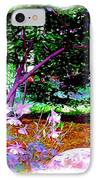 Sitting In The Shade IPhone Case