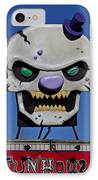 Skull Fun House Sign IPhone Case