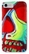 Skull Original Madart Painting IPhone Case