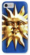Smiling Sunshine IPhone Case by Meirion Matthias