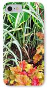 Snail In A Rich Composition IPhone Case