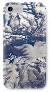 Snowy Landscape Aerial IPhone Case