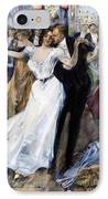 Society Ball, C1900 IPhone Case by Granger